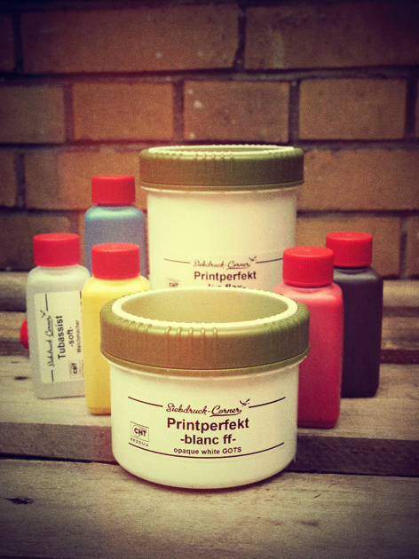 CHT-Farb Mischsystem wasserbasierte Siebdruckfarbe selber mischen